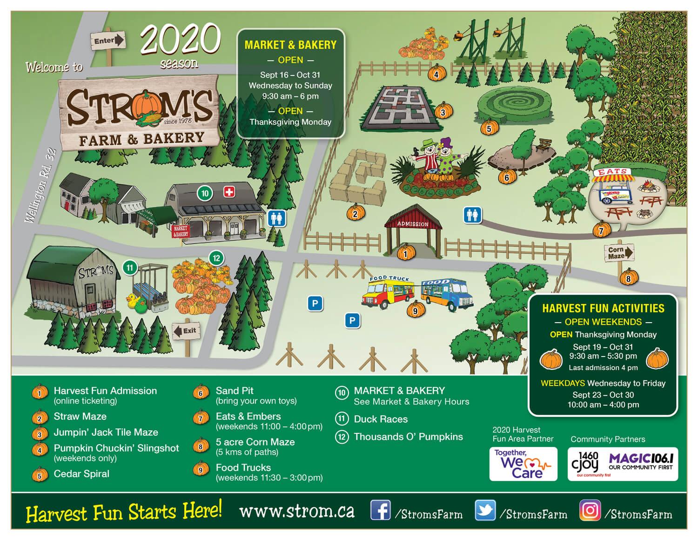 Strom's Farm MAP 2020