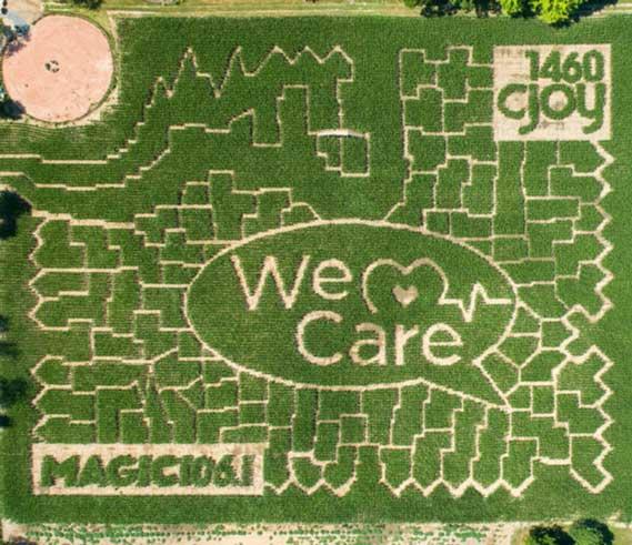 Strom's Farm 2020 Maze
