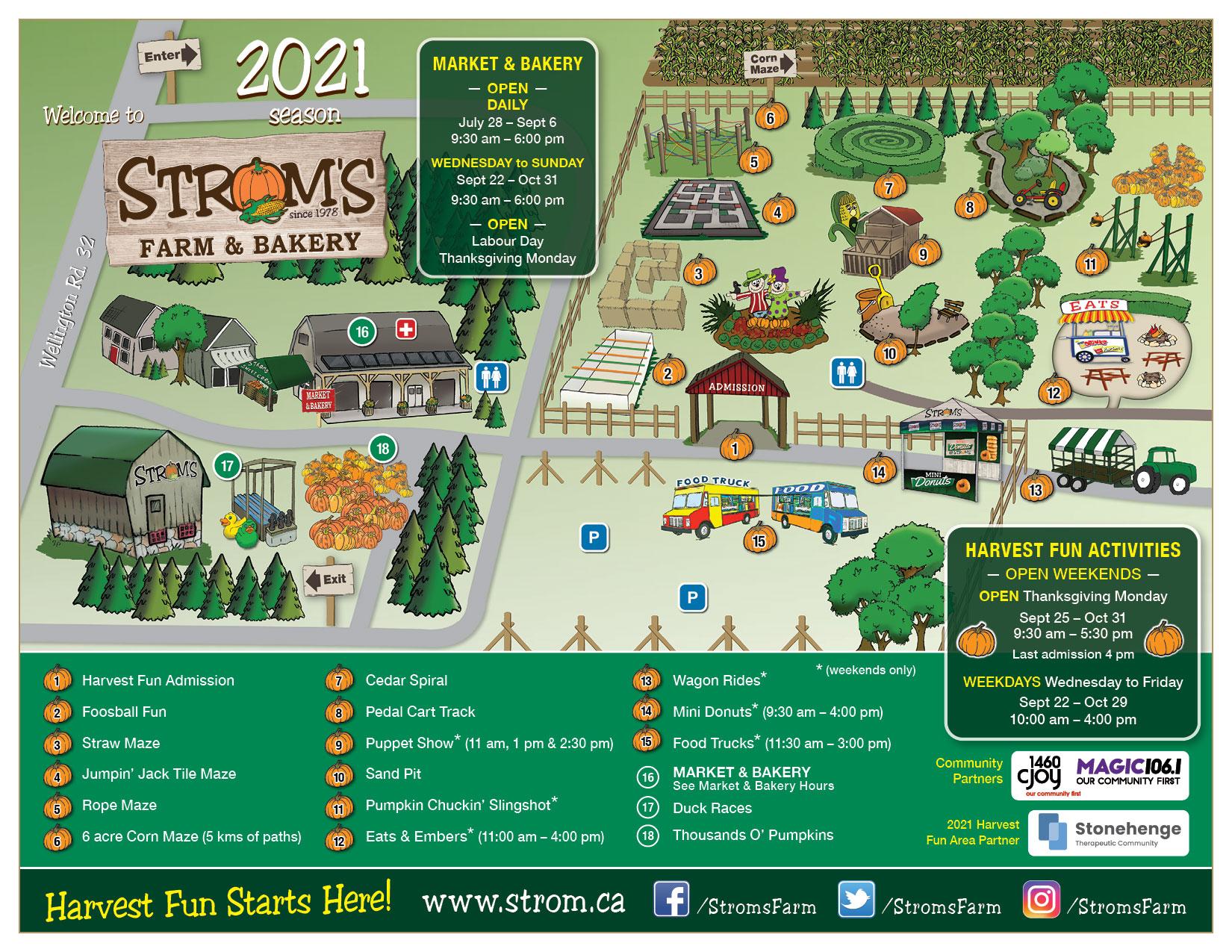 Stroms Map 2021